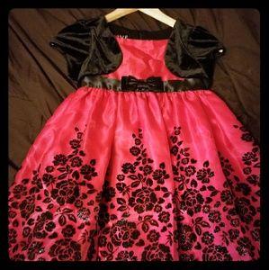 Girls 6x fancy Dress
